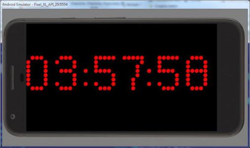 اسکرین شات برنامه Simple Big Digital Clock with Metronome and Timer 6