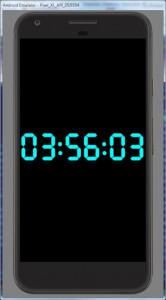 اسکرین شات برنامه Simple Big Digital Clock with Metronome and Timer 1