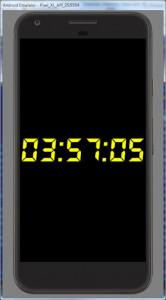 اسکرین شات برنامه Simple Big Digital Clock with Metronome and Timer 3
