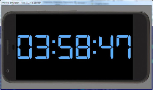 اسکرین شات برنامه Simple Big Digital Clock with Metronome and Timer 8