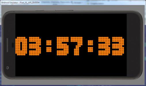 اسکرین شات برنامه Simple Big Digital Clock with Metronome and Timer 5