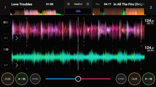 اسکرین شات برنامه WeDJ 2