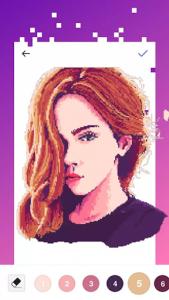اسکرین شات برنامه UNICORN - Color By Number & Pixel Art Coloring 4