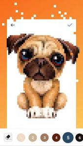 اسکرین شات برنامه UNICORN - Color By Number & Pixel Art Coloring 1