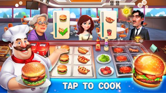 اسکرین شات بازی Happy Cooking: Chef Fever 1