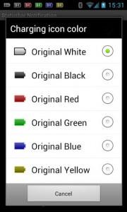اسکرین شات برنامه Battery Widget Icon Pack 3 2