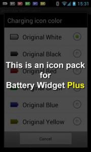 اسکرین شات برنامه Battery Widget Icon Pack 3 1
