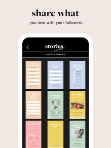 اسکرین شات برنامه StoriesEdit: Instagram Story Templates and Layouts 3