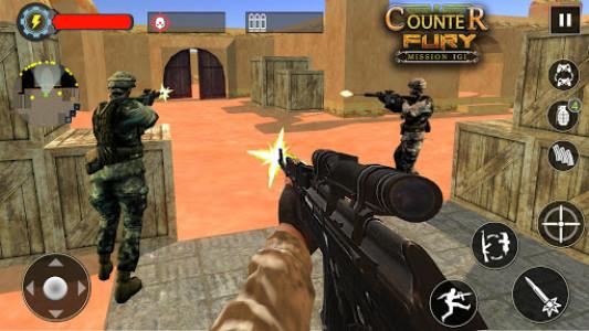 اسکرین شات بازی Mission Counter Fury - Critical Strike CS FPS 1