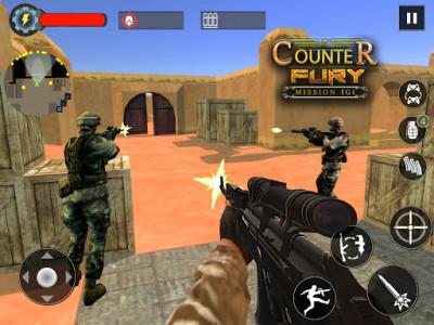 اسکرین شات بازی Mission Counter Fury - Critical Strike CS FPS 7