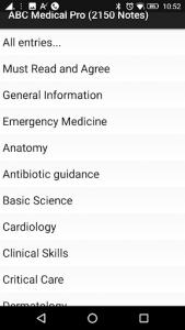 اسکرین شات برنامه ABC Medical Notes 2021 6