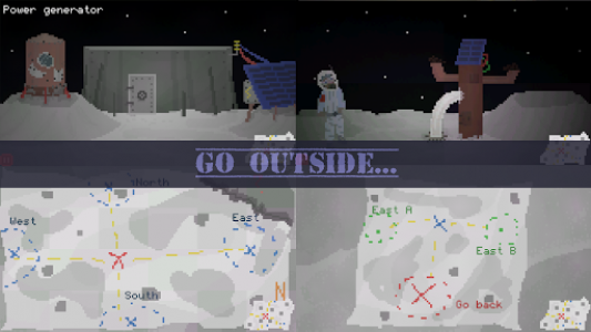 اسکرین شات بازی Alive In Shelter: Moon 2