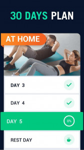 اسکرین شات برنامه 30 Day Fitness Challenge - Workout at Home 2