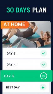 اسکرین شات برنامه 30 Day Fitness Challenge - Workout at Home 8