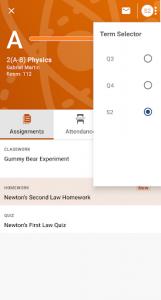 اسکرین شات برنامه PowerSchool Mobile 4
