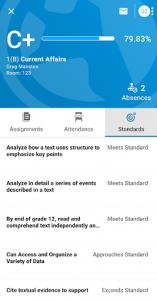 اسکرین شات برنامه PowerSchool Mobile 5