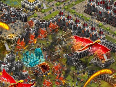 اسکرین شات بازی Throne Rush 5
