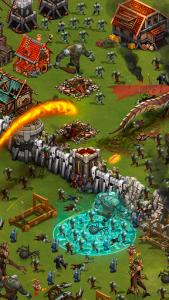اسکرین شات بازی Throne Rush 2
