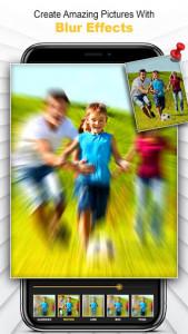 اسکرین شات برنامه Shimmer Photo Effects: PIP, Photo Blur and More 3