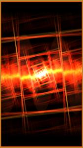 اسکرین شات برنامه projectM Music Visualizer 1