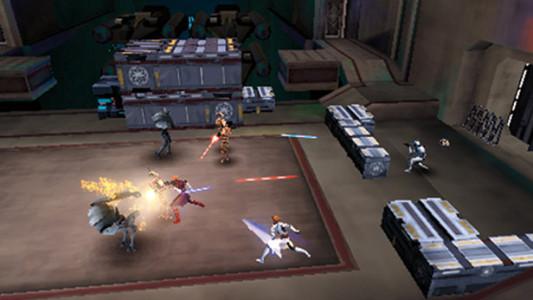 اسکرین شات بازی جنگ ستارگان: نبرد کلون ها 1