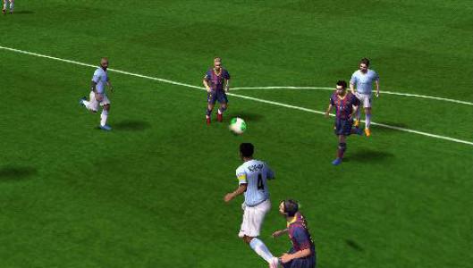 اسکرین شات بازی فوتبال FIFA 14 1