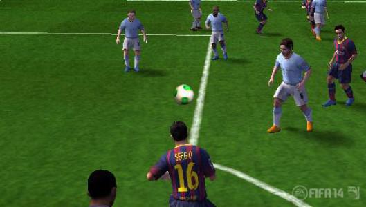 اسکرین شات بازی فوتبال FIFA 14 4