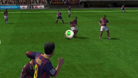 اسکرین شات بازی فوتبال FIFA 14 3
