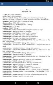 اسکرین شات برنامه Prescribe (تجویز کن) 8
