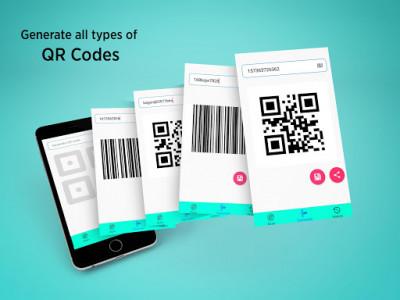 اسکرین شات برنامه QR Code Reader - Barcode Scanner Fast 3