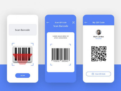 اسکرین شات برنامه QR Code Reader - Barcode Scanner Fast 2