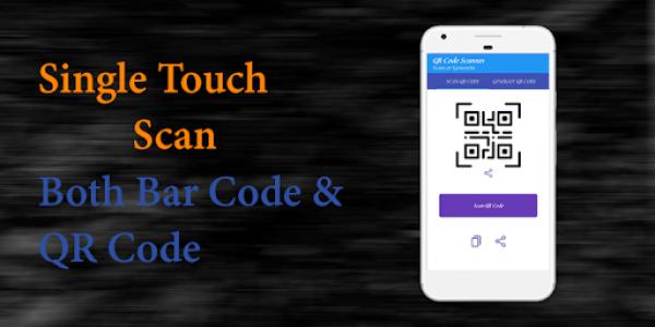 اسکرین شات برنامه QR Code Reader - Barcode Scanner Fast 8