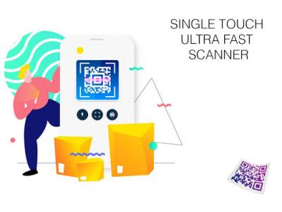 اسکرین شات برنامه QR Code Reader - Barcode Scanner Fast 5