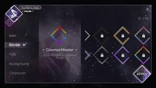 اسکرین شات بازی KALPA - Original Rhythm Game 7