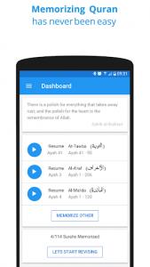 اسکرین شات برنامه Memorize Quran 1