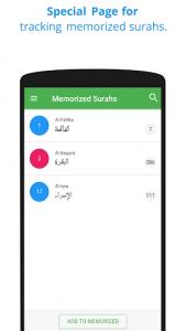 اسکرین شات برنامه Memorize Quran 4