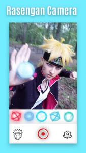 اسکرین شات برنامه Rasengan Camera - Jutsu Photo Editor 5