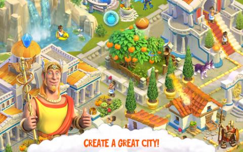 اسکرین شات بازی Divine Academy: God Simulator, Build your City 6
