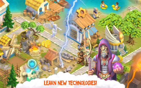 اسکرین شات بازی Divine Academy: God Simulator, Build your City 8
