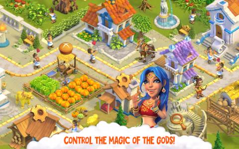 اسکرین شات بازی Divine Academy: God Simulator, Build your City 7