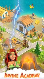 اسکرین شات بازی Divine Academy: God Simulator, Build your City 5