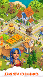 اسکرین شات بازی Divine Academy: God Simulator, Build your City 3