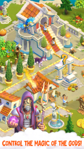اسکرین شات بازی Divine Academy: God Simulator, Build your City 2