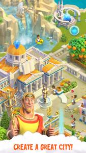 اسکرین شات بازی Divine Academy: God Simulator, Build your City 1