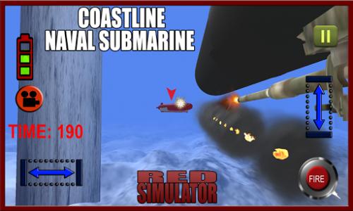 اسکرین شات بازی Coastline Naval Submarine Frontline Warship Fleet 4