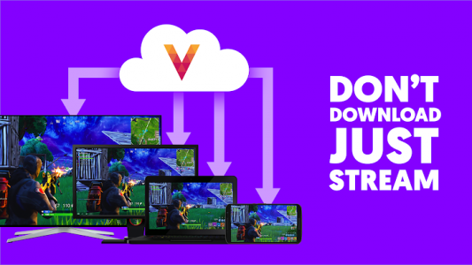 اسکرین شات برنامه Vortex Cloud Gaming 1