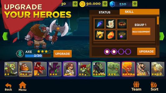 اسکرین شات بازی Castle Kingdom: Crush in Free Strategy Card Games 3