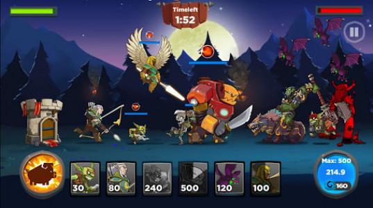 اسکرین شات بازی Castle Kingdom: Crush in Free Strategy Card Games 4