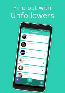اسکرین شات برنامه Unfollowers 4 Instagram - Check who unfollowed you 4