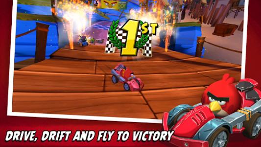 اسکرین شات بازی Angry Birds Go! 2